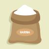 harina elimina manchas de cal en los grifos