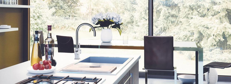 Grifos de cocina ca o flexible o extensible grifer a clever for Griferia osmosis
